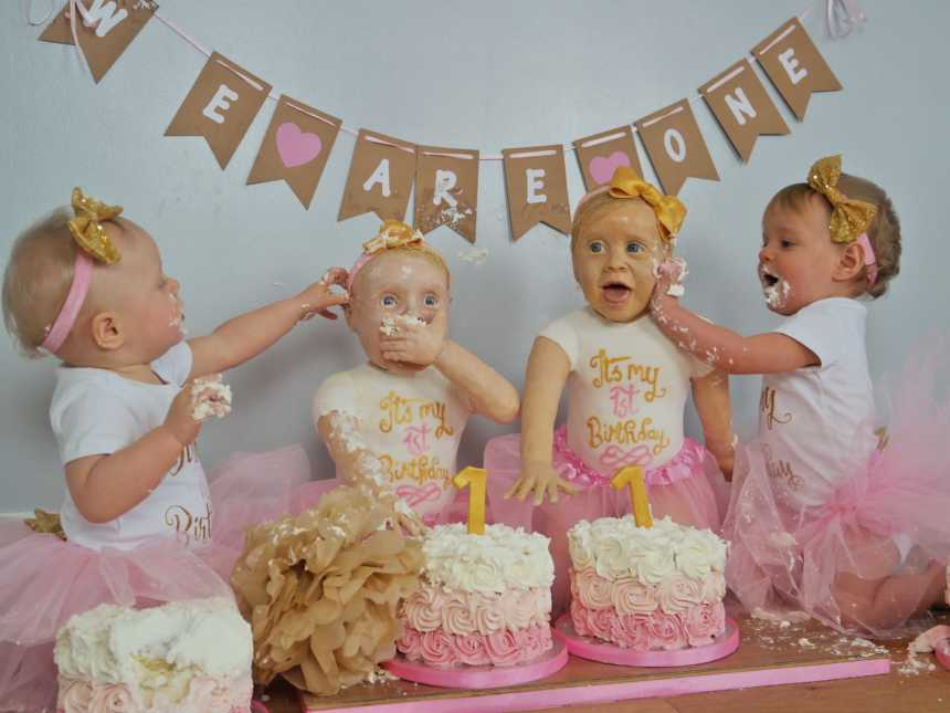 Look Closely Can You Tell The Birthday Cakes From The Babies