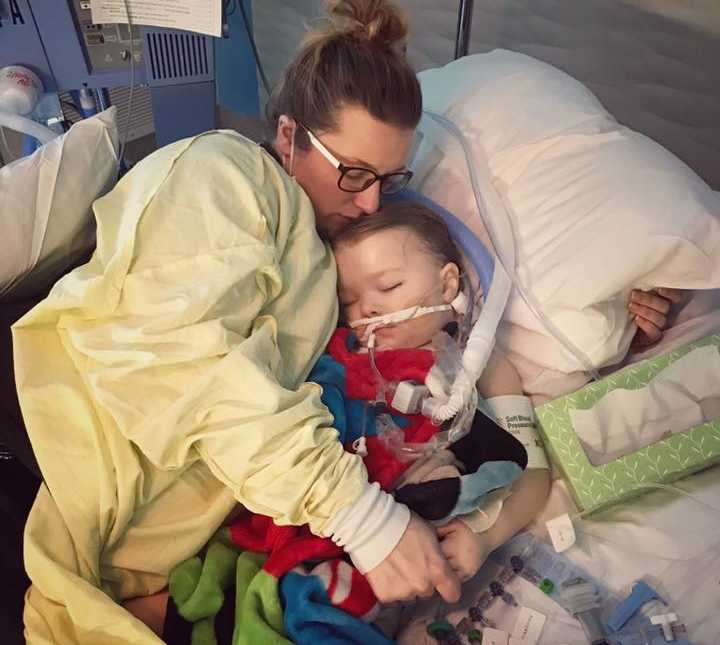 Mom Warns Son's Complications Flu Of Update Traumatic 3-year-old