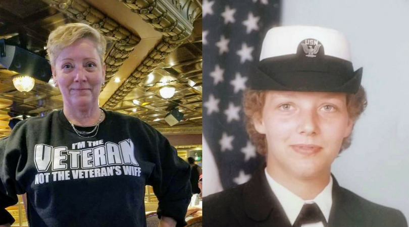 f83b0b47 'I'm the Veteran, not the Veteran's wife': Master Chief Petty Officer  retires as senior enlisted woman in the Navy, wants others to know 'we  already are ...