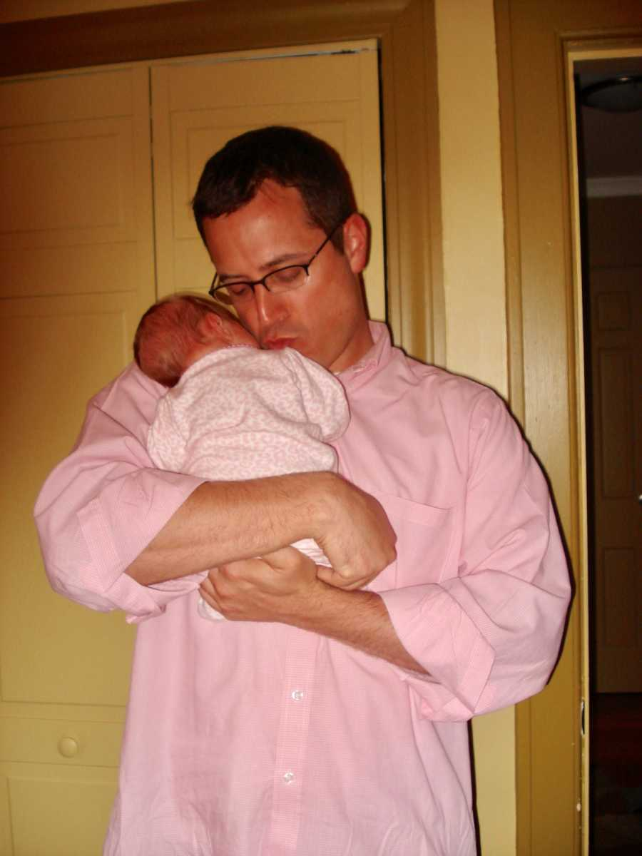 I had to leave, I had to be a single dad, to be a better