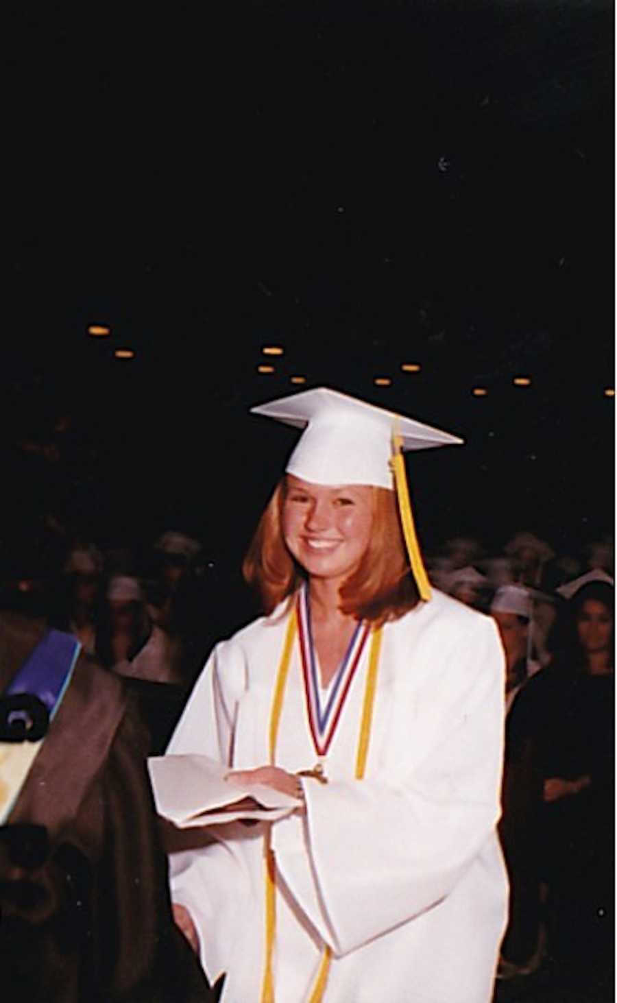 Teen's high school graduation