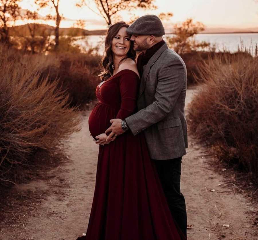 Couple pregnancy photos