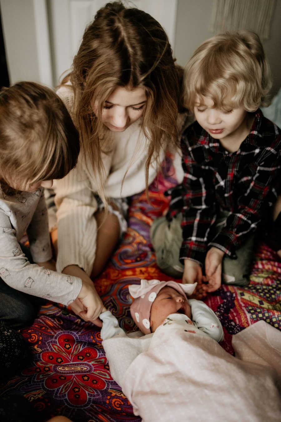 family portrait- 10 kids