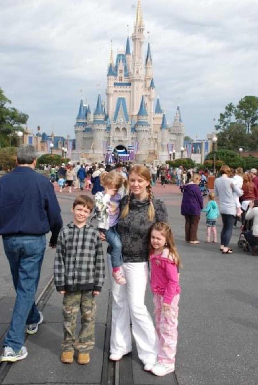 photo of Disney castle