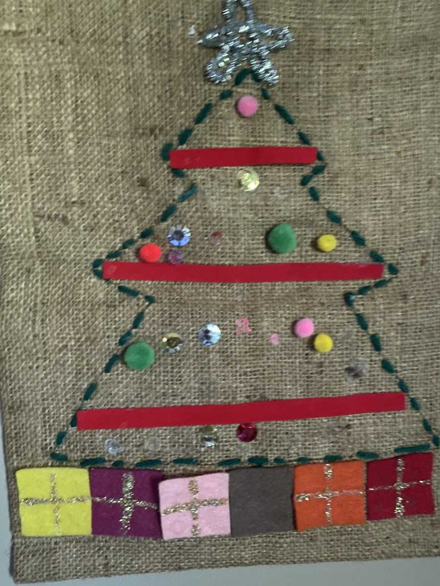 arts and craft sewing project