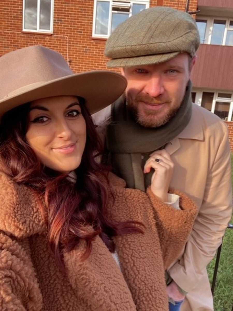 Husband and wife selfie