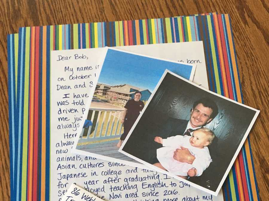 letter from daughter to biological dad