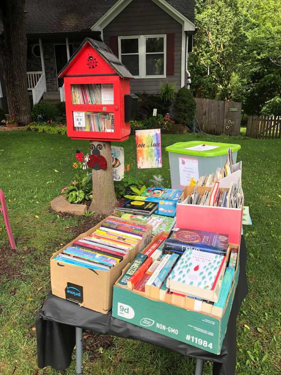 small community library