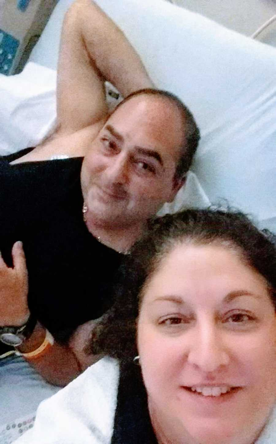 Couple take selfie together after husband gets diagnosed with Auto-Brewery syndrome