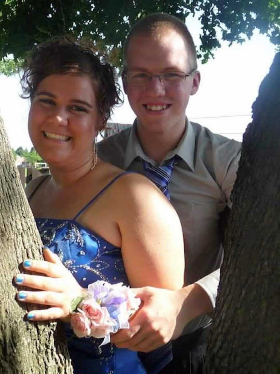 couple at prom