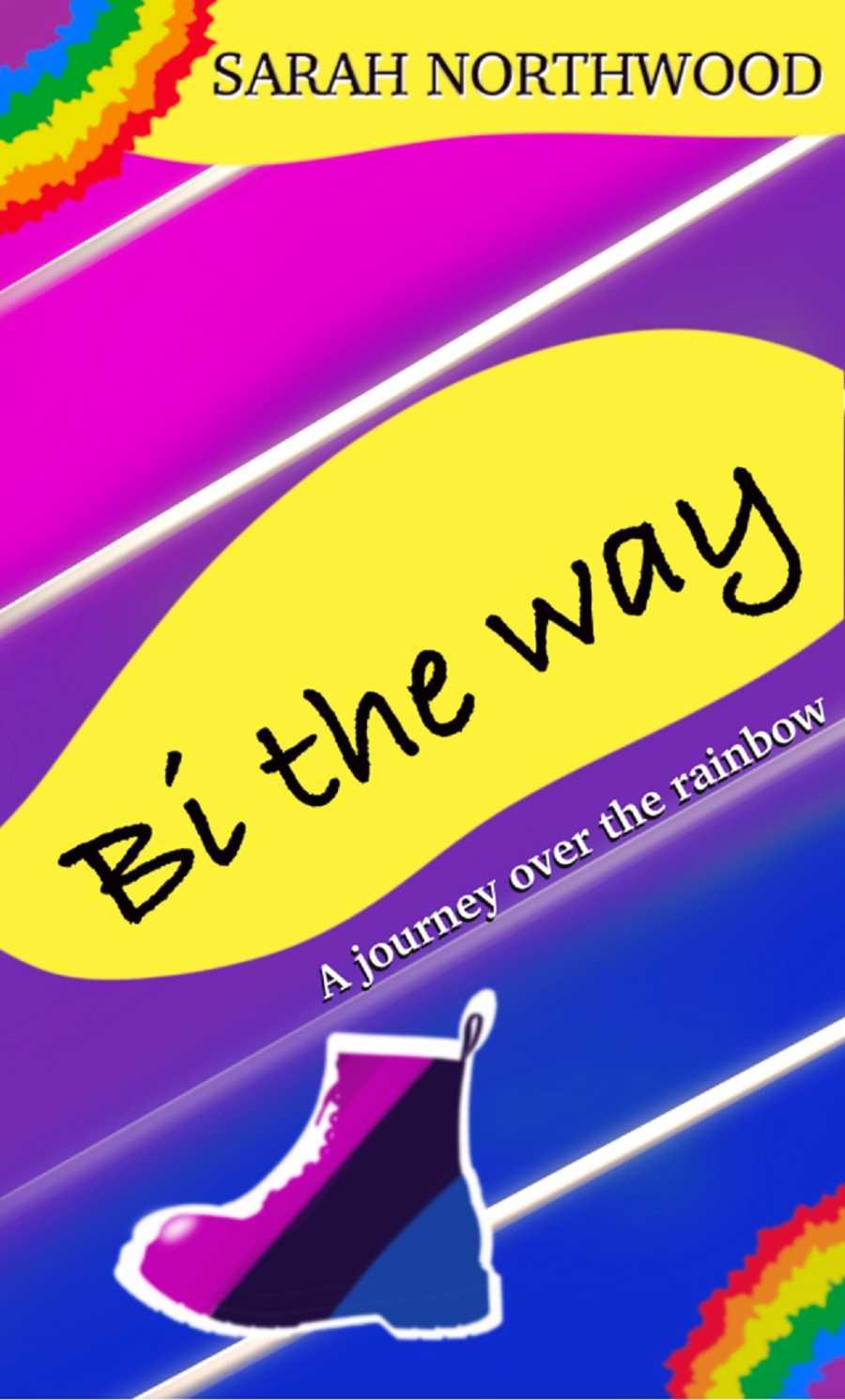 A brightly colored book cover