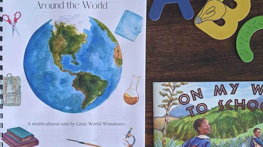 around the world cutout