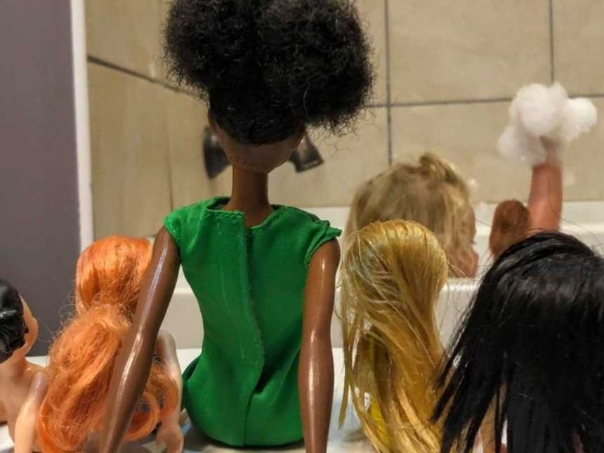 Mom uses different kinds of Barbies to teach daughter lesson on kindness, diversity, and inclusion