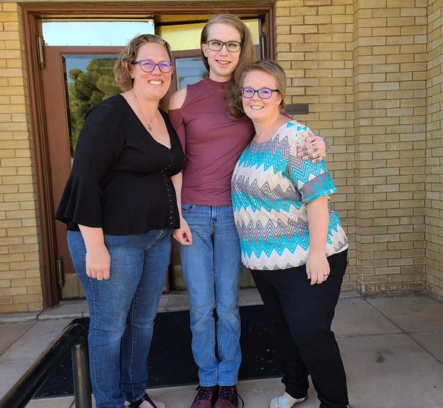 moms and their transgender daughter