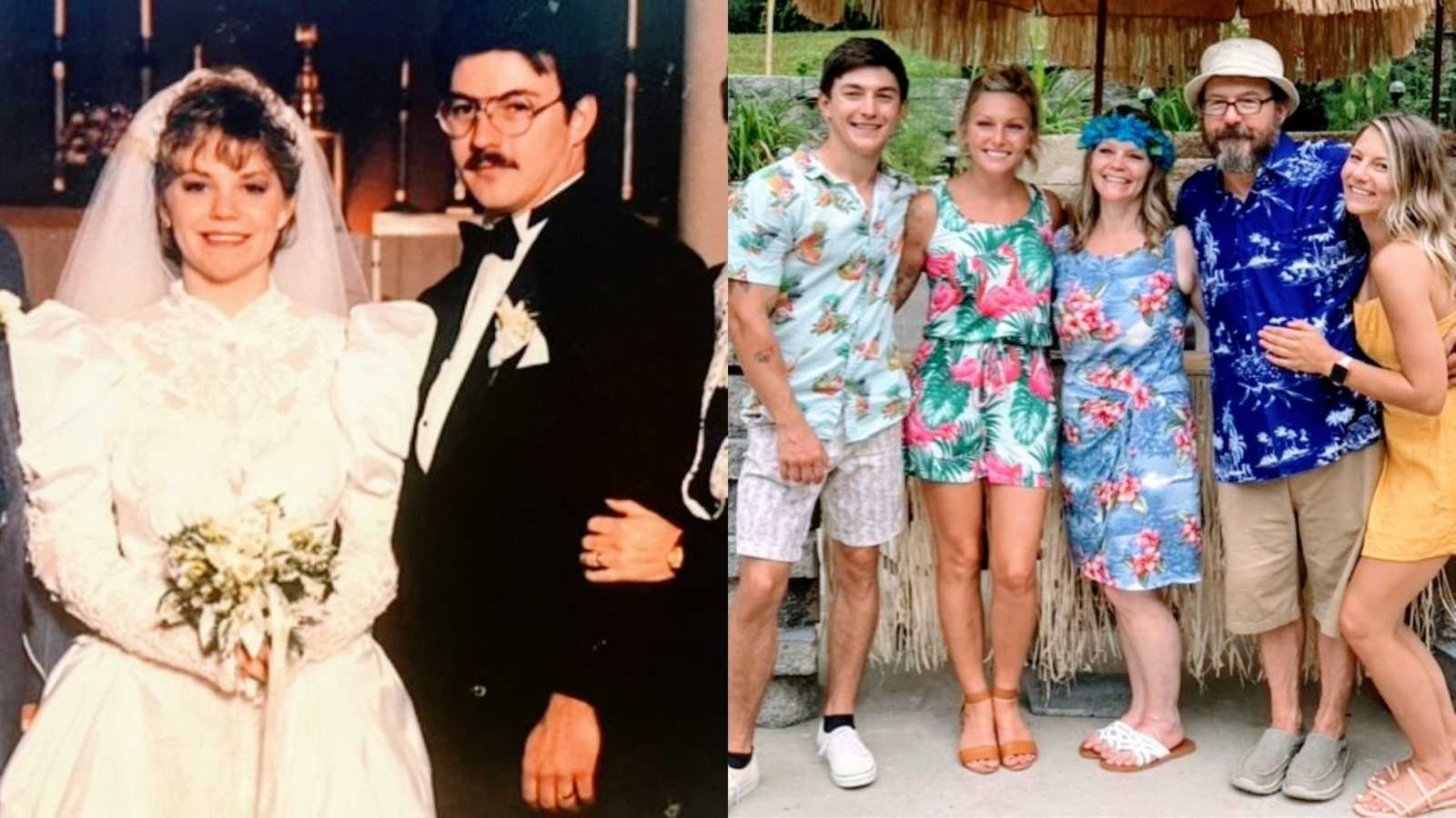 Soulmates get married twice, once after man recovers from alcoholism