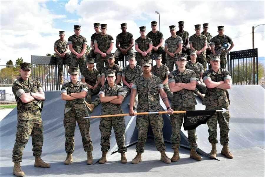 Marines together
