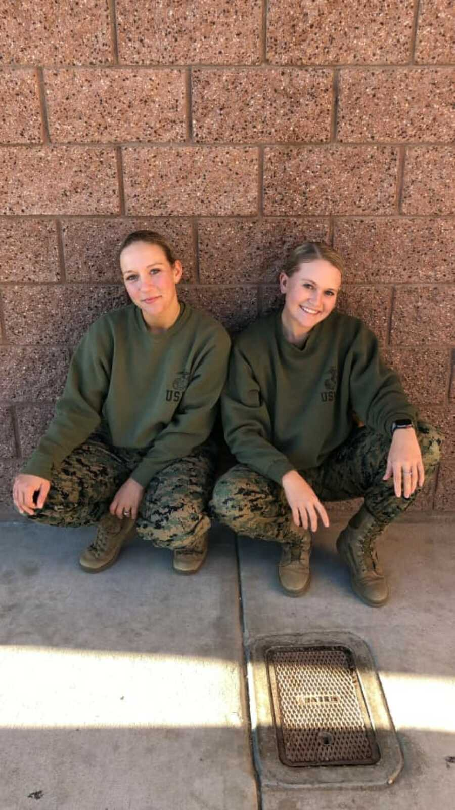Military women together