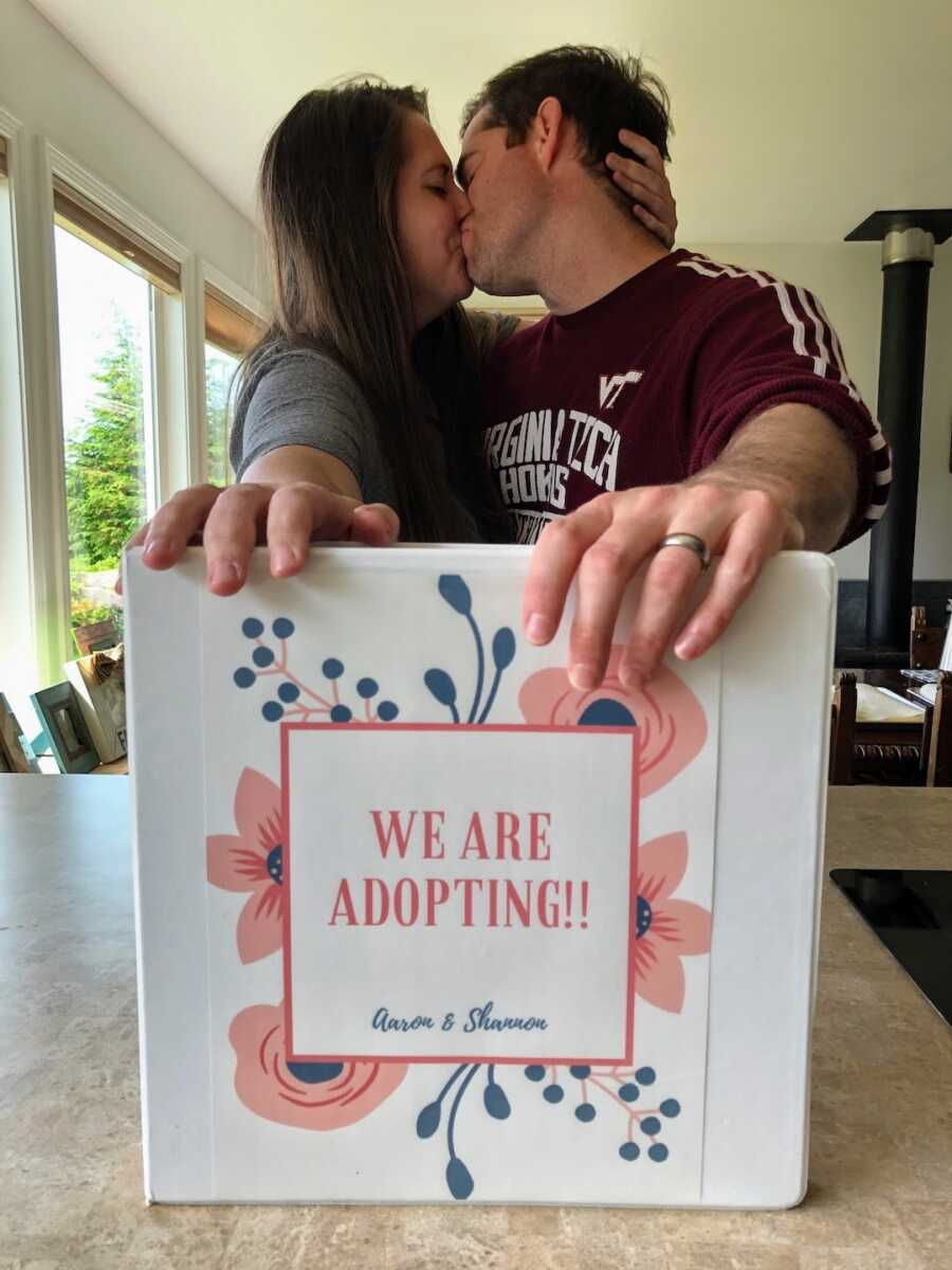 Family starts to think about adopting
