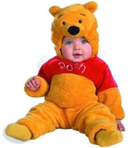 Baby Winnie The Pooh costume.