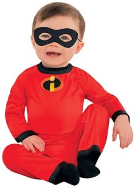 Baby Jack Jack costume from Pixar's The Incredibles.