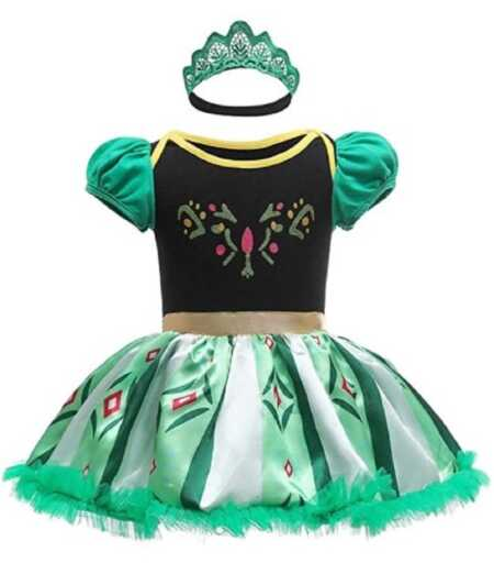 Baby Princess Anna costume from Disney's Frozen.